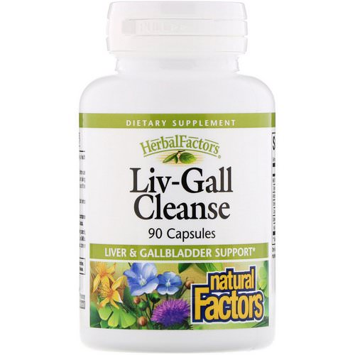 Natural Factors, Liv-Gall Cleanse, 90 Capsules Review