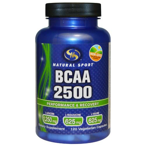 Natural Sport, BCAA 2500, 120 Veggie Caps Review