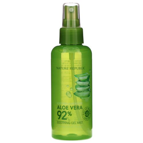 Nature Republic, Aloe Vera Soothing Gel Mist, 5.07 fl oz (150 ml) Review