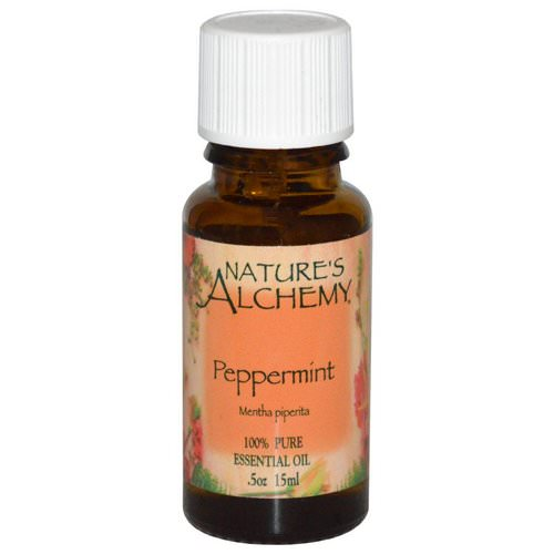 Nature's Alchemy, Peppermint Oil, .5 oz (15 ml) Review