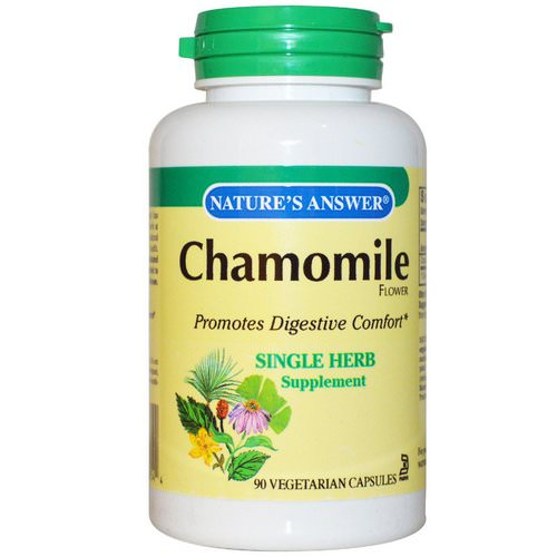 Nature's Answer, Chamomile, 650 mg, 90 Veggie Caps Review