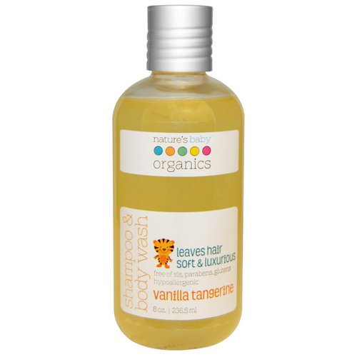 Nature's Baby Organics, Shampoo & Body Wash, Vanilla Tangerine, 8 oz (236.5 ml) Review