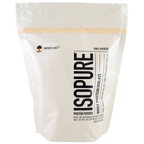 Nature's Best, IsoPure, Whey Protein Isolate, Protein Powder, Unflavored, 1 lb (454 g) Review