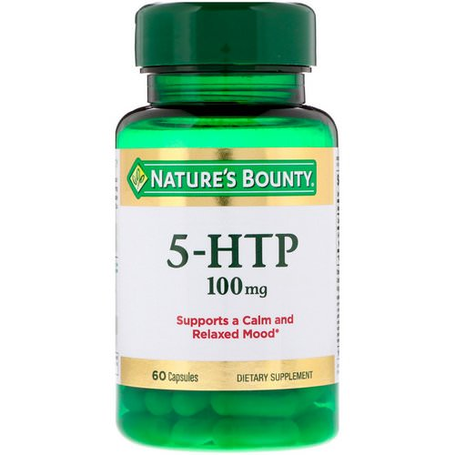 Nature's Bounty, 5-HTP, 100 mg, 60 Capsules Review