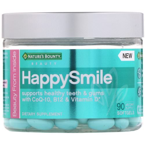 Nature's Bounty, HappySmile, 90 Softgels Review