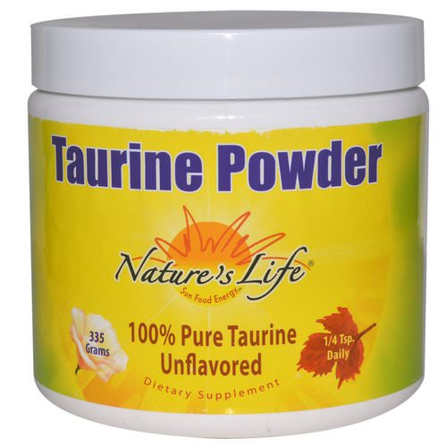 Nature's Life, Taurine Powder, Unflavored, 335 g Review