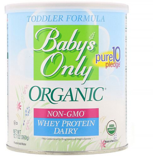 Nature's One, Baby's Only Organic, Toddler Formula Whey Protein, Dairy, 12.7 oz (360 g) Review