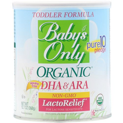 Nature's One, Organic Toddler Formula, LactoRelief, 12.7 oz (360 g) Review