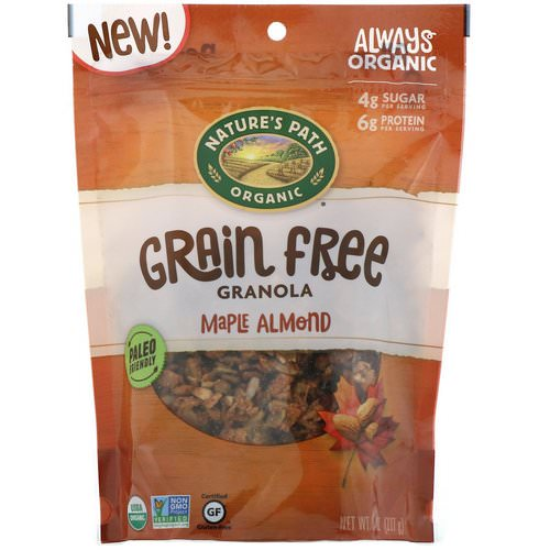 Nature's Path, Grain Free Granola, Maple Almond, 8 oz (227 g) Review
