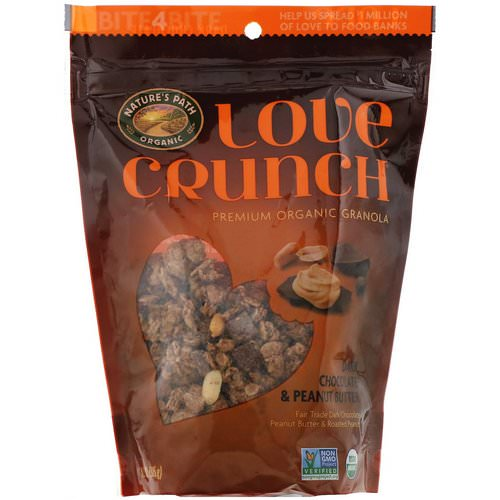 Nature's Path, Love Crunch, Dark Chocolate & Peanut Butter, 11.5 oz (325 g) Review