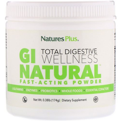 Nature's Plus, GI Natural Fast-Acting Powder, 0.38 lb (174 g) Review