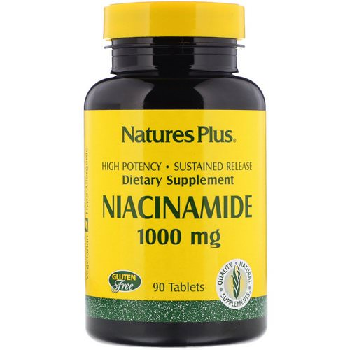 Nature's Plus, Niacinamide, 1000 mg, 90 Tablets Review