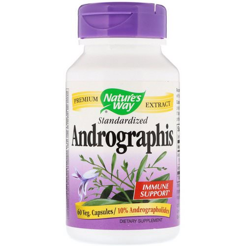 Nature's Way, Andrographis, Standardized, 60 Veg. Capsules Review