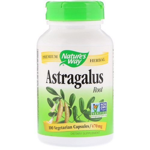 Nature's Way, Astragalus Root, 470 mg, 100 Vegetarian Capsules Review