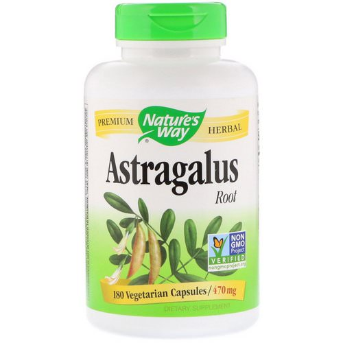 Nature's Way, Astragalus Root, 470 mg, 180 Vegetarian Capsules Review