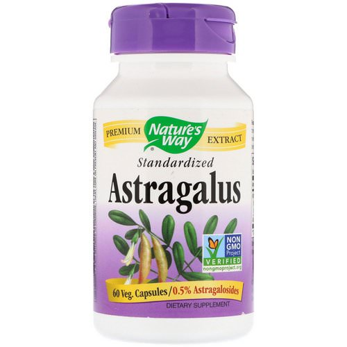 Nature's Way, Astragalus, Standardized, 60 Veg. Capsules Review