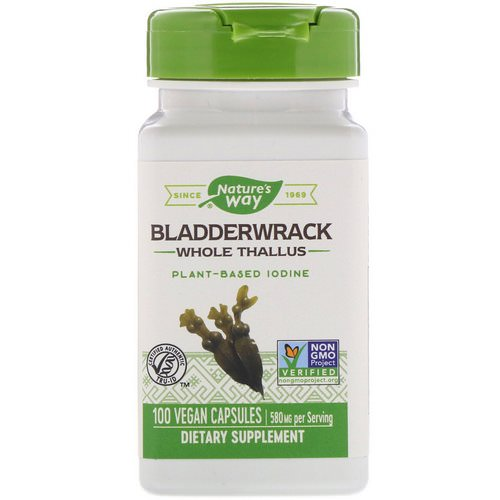 Nature's Way, Bladderwrack, 580 mg, 100 Vegan Capsules Review