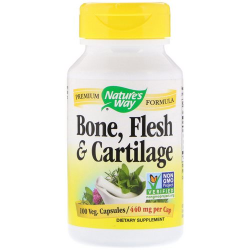 Nature's Way, Bone, Flesh & Cartilage, 440 mg, 100 Veg. Capsules Review