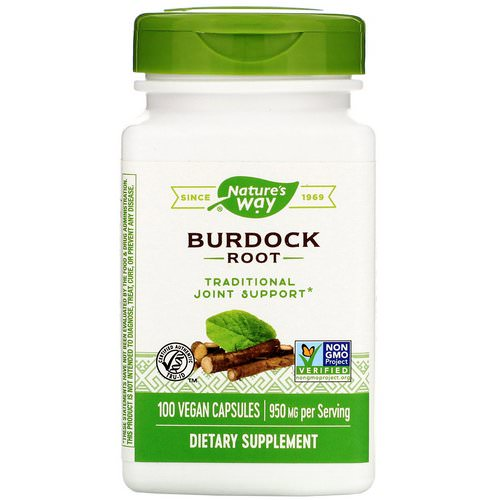 Nature's Way, Burdock Root, 950 mg, 100 Vegan Capsules Review
