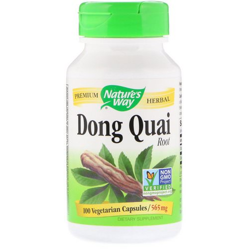 Nature's Way, Dong Quai, Root, 565 mg, 100 Vegetarian Capsules Review