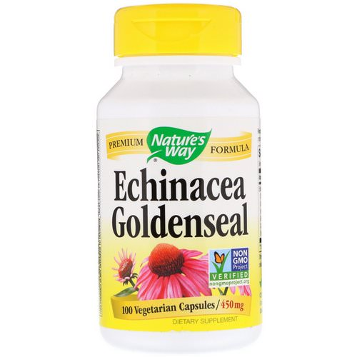 Nature's Way, Echinacea Goldenseal, 450 mg, 100 Vegetarian Capsules Review