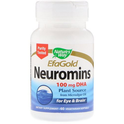 Nature's Way, EFAGold, Neuromins, 100 mg, 60 Vegetarian Softgels Review