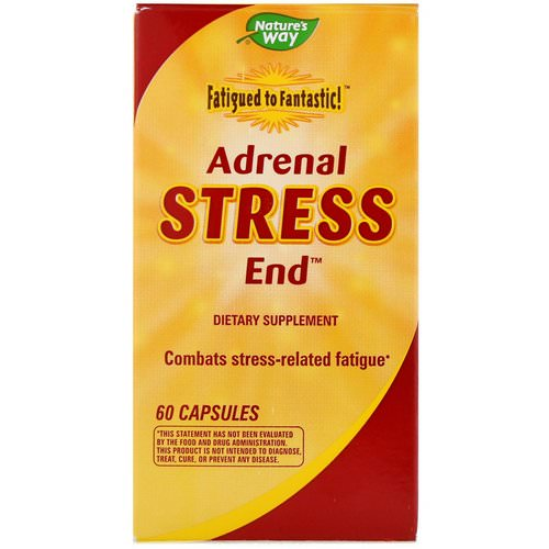 Nature's Way, Fatigued to Fantastic! Adrenal Stress End, 60 Capsules Review