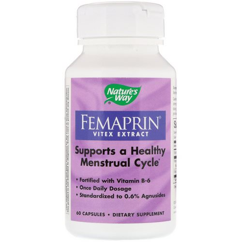 Nature's Way, Femaprin, Vitex Extract, 60 Capsules Review