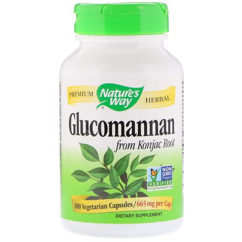 Nature's Way, Glucomannan from Konjac Root, 665 mg, 100 Vegetarian Capsules Review