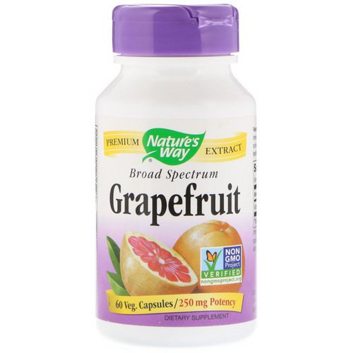 Nature's Way, Grapefruit, 250 mg, 60 Veg Capsules Review