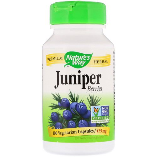 Nature's Way, Juniper Berries, 425 mg, 100 Vegetarian Capsules Review