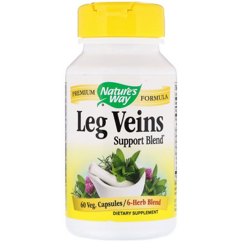 Nature's Way, Leg Veins Support Blend, 60 Veg. Capsules Review