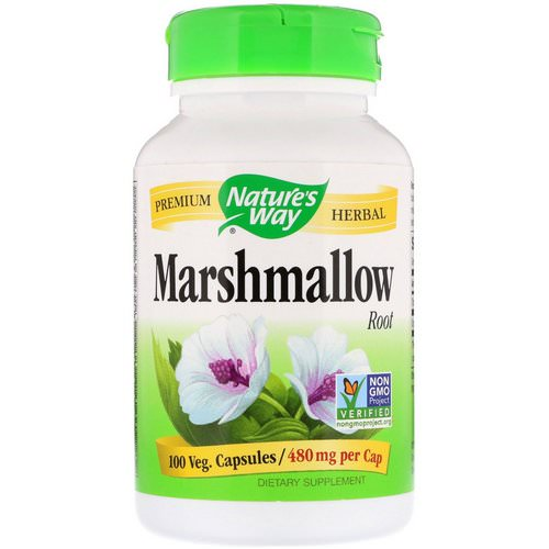 Nature's Way, Marshmallow Root, 960 mg, 100 Vegan Capsules Review
