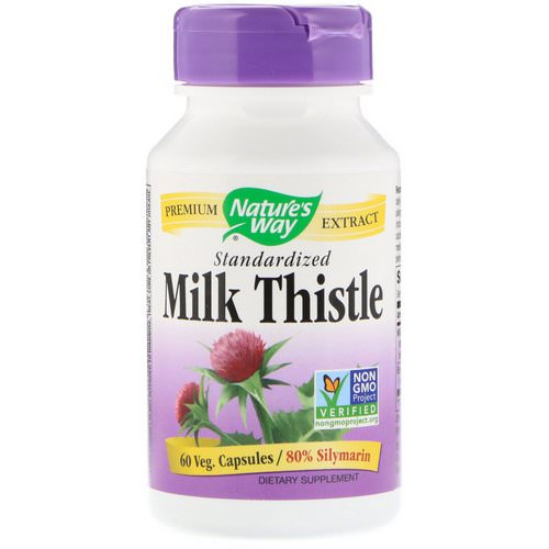 Nature's Way, Milk Thistle, Standardized, 60 Veg. Capsules Review