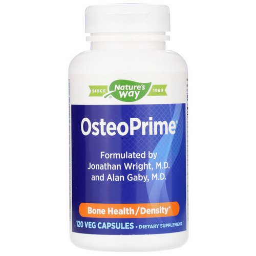 Nature's Way, OsteoPrime, Bone Health, 120 Veg Capsules Review