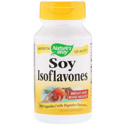 Nature's Way, Soy Isoflavones, 100 Capsules Review