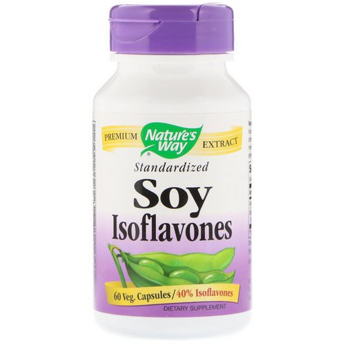 Nature's Way, Soy Isoflavones, Standardized, 60 Veg Capsules Review