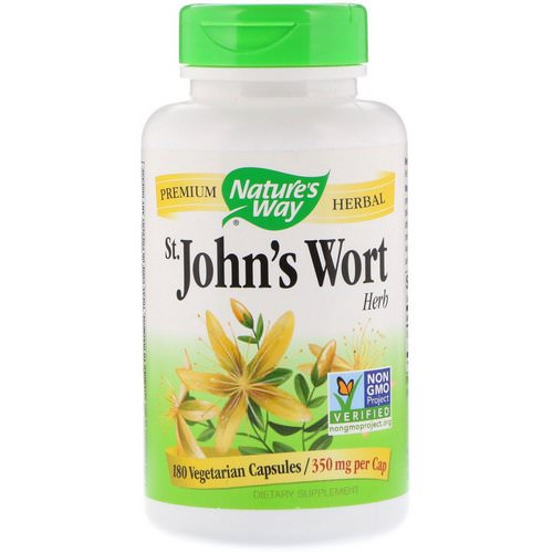 Nature's Way, St. John's Wort Herb, 350 mg, 180 Vegetarian Capsules Review