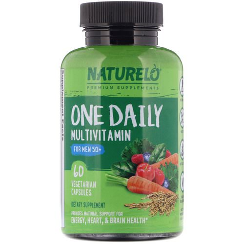 NATURELO, One Daily Multivitamin for Men 50+, 60 Vegetarian Capsules Review