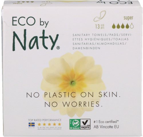 Naty, Thin Pads, Super, 13 Eco Pieces Review