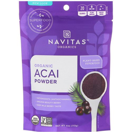 Navitas Organics, Organic Acai Powder, 4 oz (113 g) Review