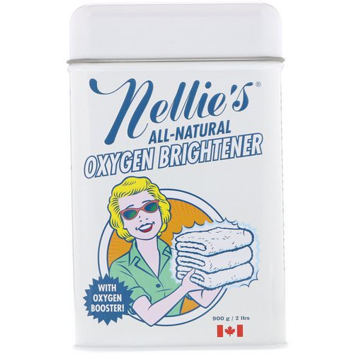 Nellie's, All-Natural, Oxygen Brightener, 2 lbs (900 g) Review
