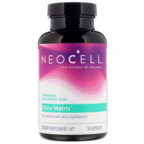 Neocell, Glow Matrix, Advanced Skin Hydrator, 90 Capsules Review