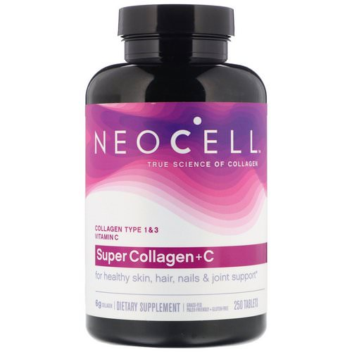 Neocell, Super Collagen + C, 250 Tablets Review
