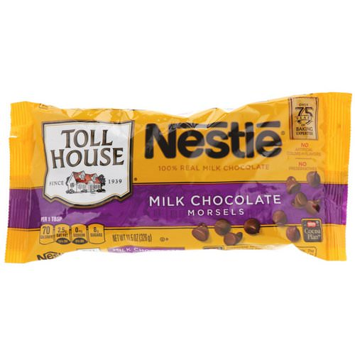 Nestle Toll House, Milk Chocolate Morsels, 11.5 oz (326 g) Review
