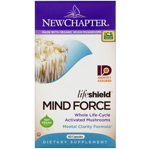 New Chapter, LifeShield, Mind Force, 60 Capsules Review