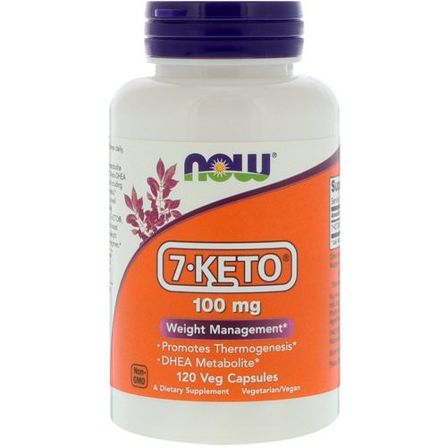 Now Foods, 7-KETO, 100 mg, 120 Veg Capsules Review