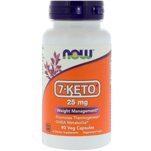 Now Foods, 7-KETO, 25 mg, 90 Veg Capsules Review