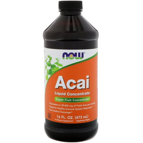 Now Foods, Acai Liquid Concentrate, 16 fl oz (473 ml) Review