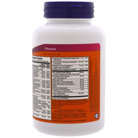Now Foods Men's Multivitamins Multivitamins - 男人的多種維生素, 男人的健康, 補充
